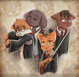 Gryffindor Boys by MRA-aka-CR