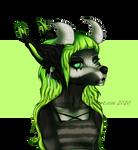 green gurl by x-moondoll