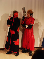 Desucon: Tobi and Vash by mthows1