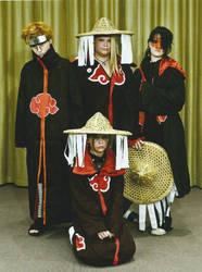 Desucon: Akatsuki group by mthows1