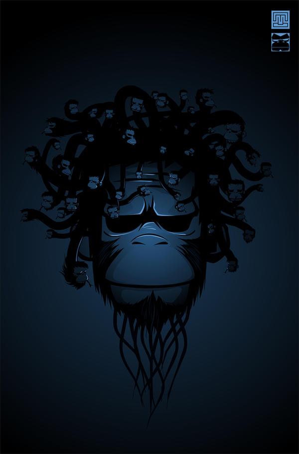 Medusa.Monkey.Version. by munyuksaraph