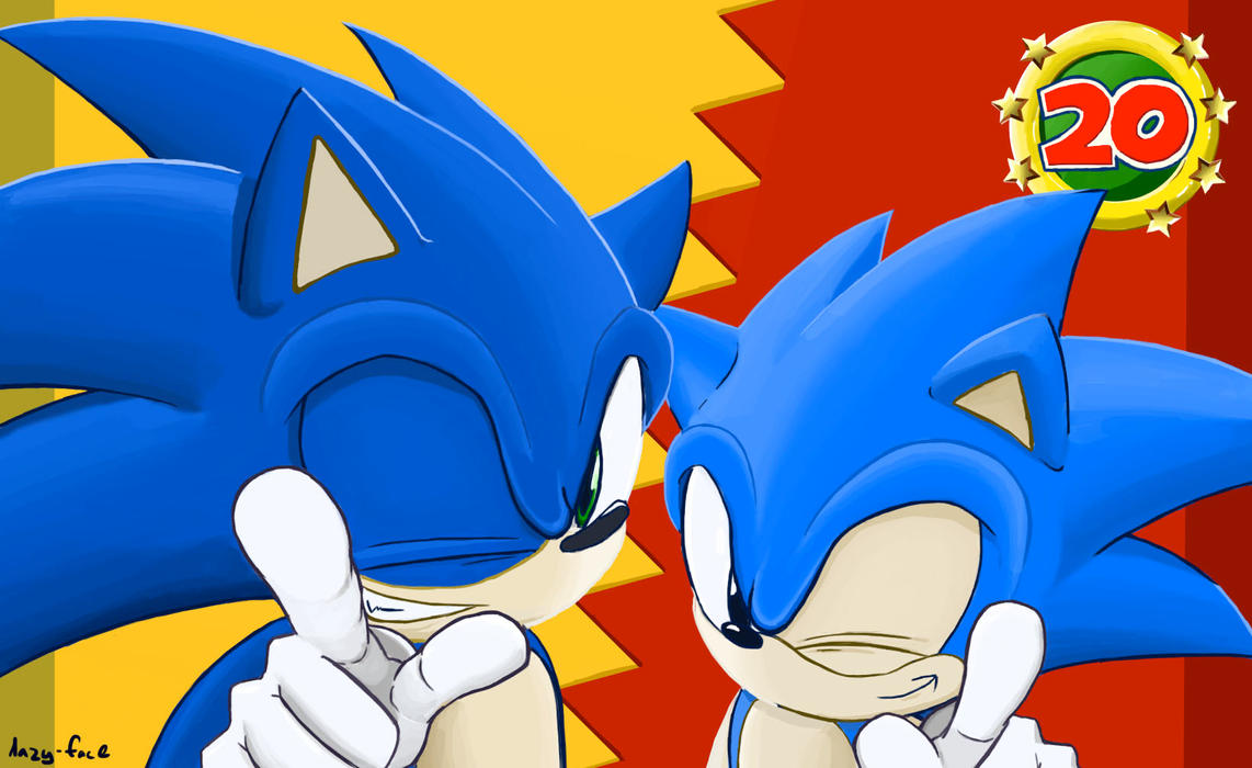 Get Hype: Sonic Generations by lazy-face
