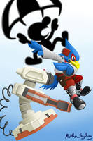Gift - Falco, R.O.B, Game and Watch by lazy-face