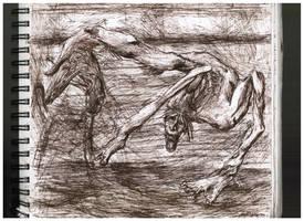 NightmareCreature by ferretwraith