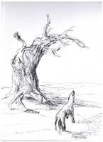 DogTree by ferretwraith