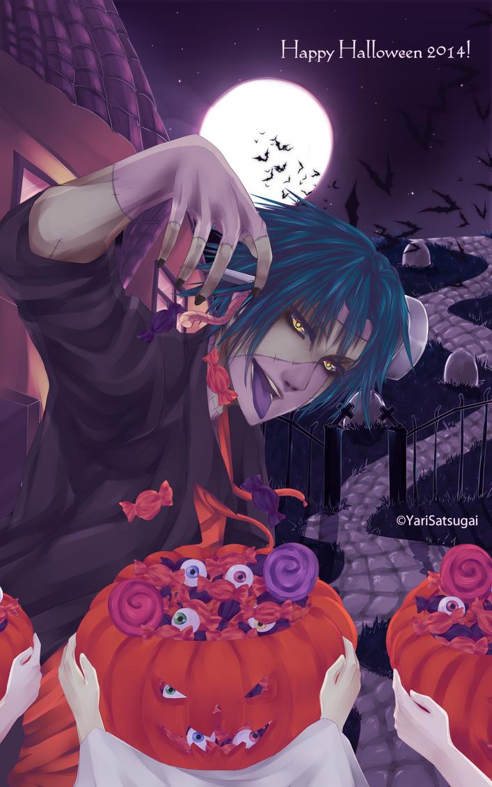 Happy Halloween! by YariSatsugai