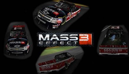 iRacing Mass Effect 3 Truck by AJFay77