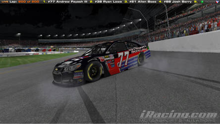 2015-16 First Nascar iRacing Pro Series Win by AJFay77