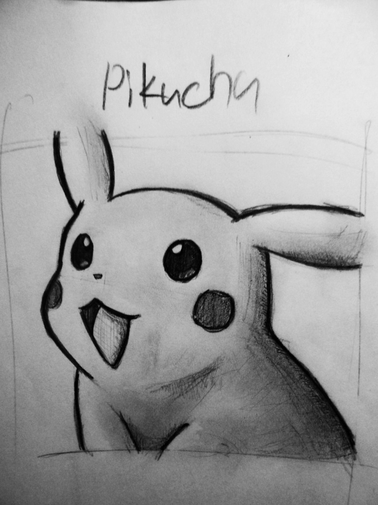 pikachu sketch pokemon by jessie katcat on deviantart