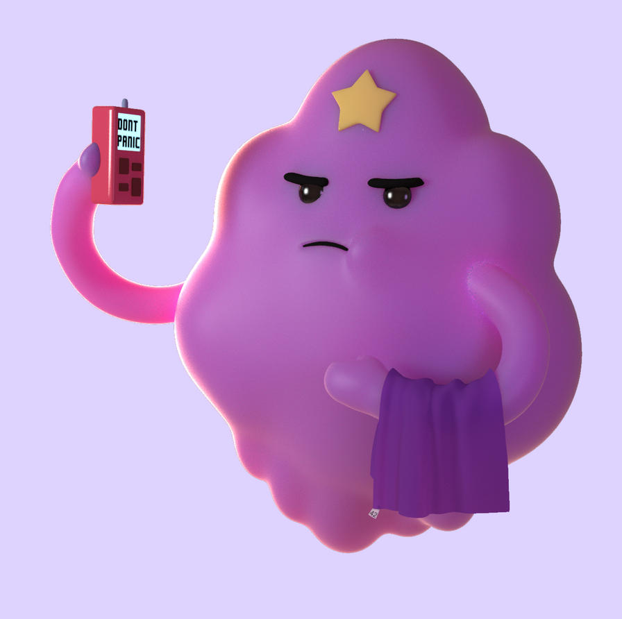 Lumpy Space Princess by Tony3d