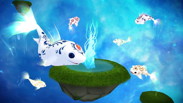 Floating island and Rozepowason stage dl by MikuPirate