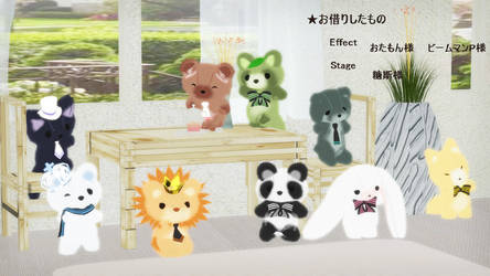Stuffed Toy Set dl