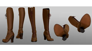 Lace-up boots-nyantarox dl
