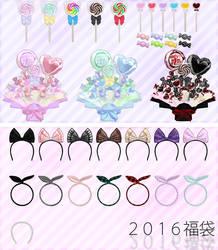 2016 bags-Natsuka dl by MikuPirate