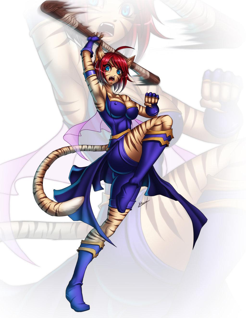 Characters: Beast-Kin (animal-trait people) Cassa_by_karosu_maker_d85yh62_by_akiyamamoto77-daz85kv