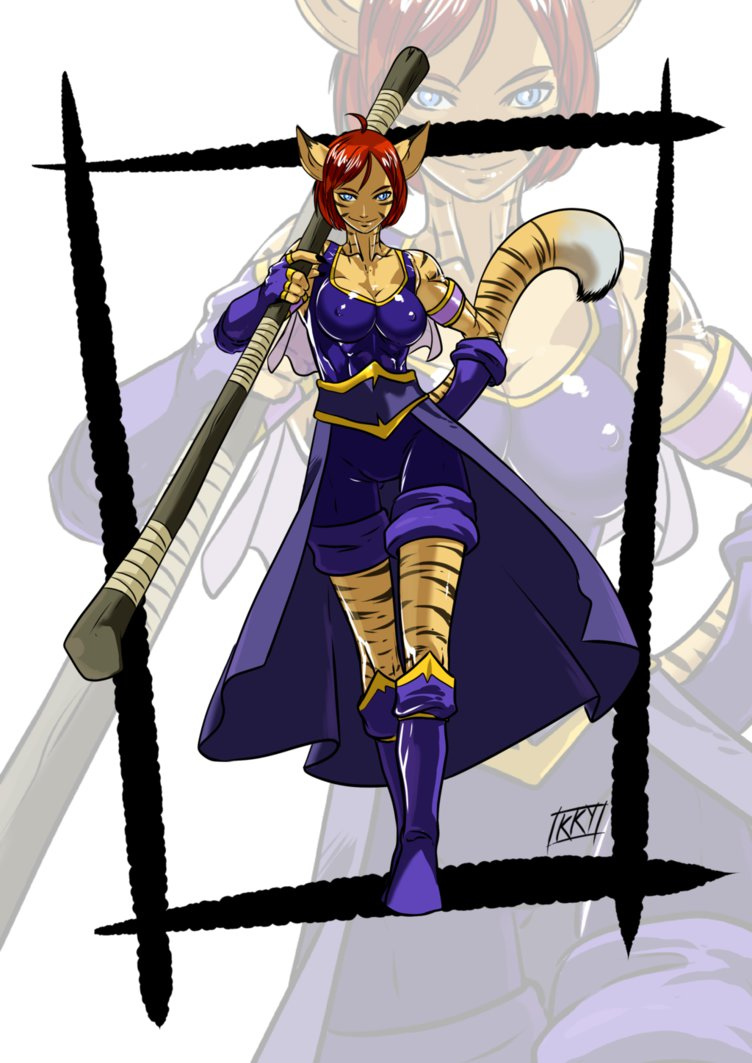 Characters: Beast-Kin (animal-trait people) Commission__cassa_by_kukuruyoart_d812kbm_by_akiyamamoto77-db6qdsg