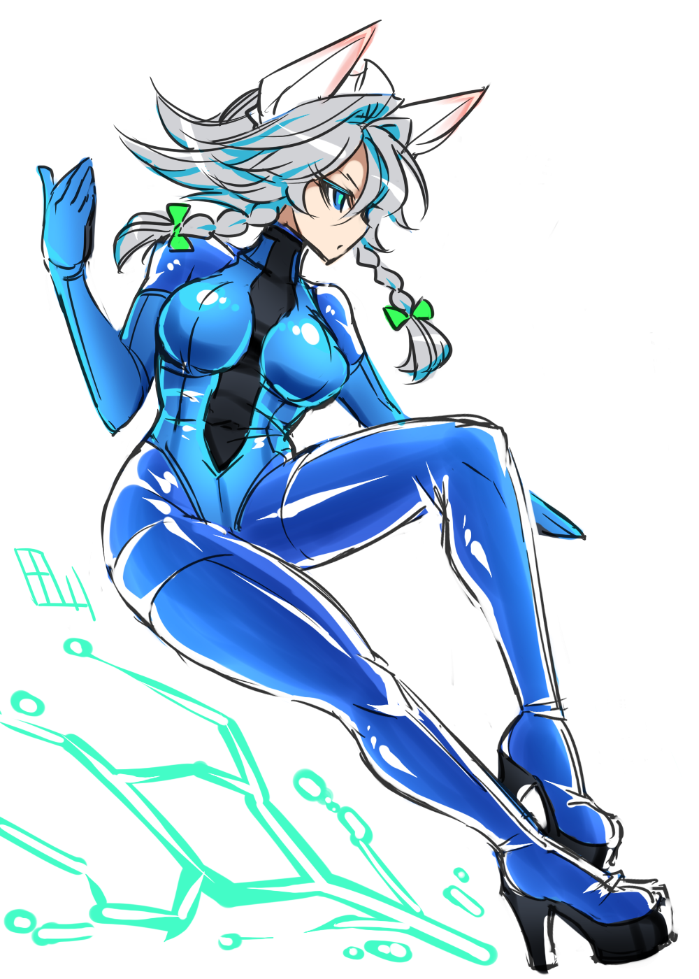 Characters: Human - Page 4 __izayoi_sakuya_touhou_drawn_by_tajima_yuuki__3f66_by_akiyamamoto77-dbrka4y