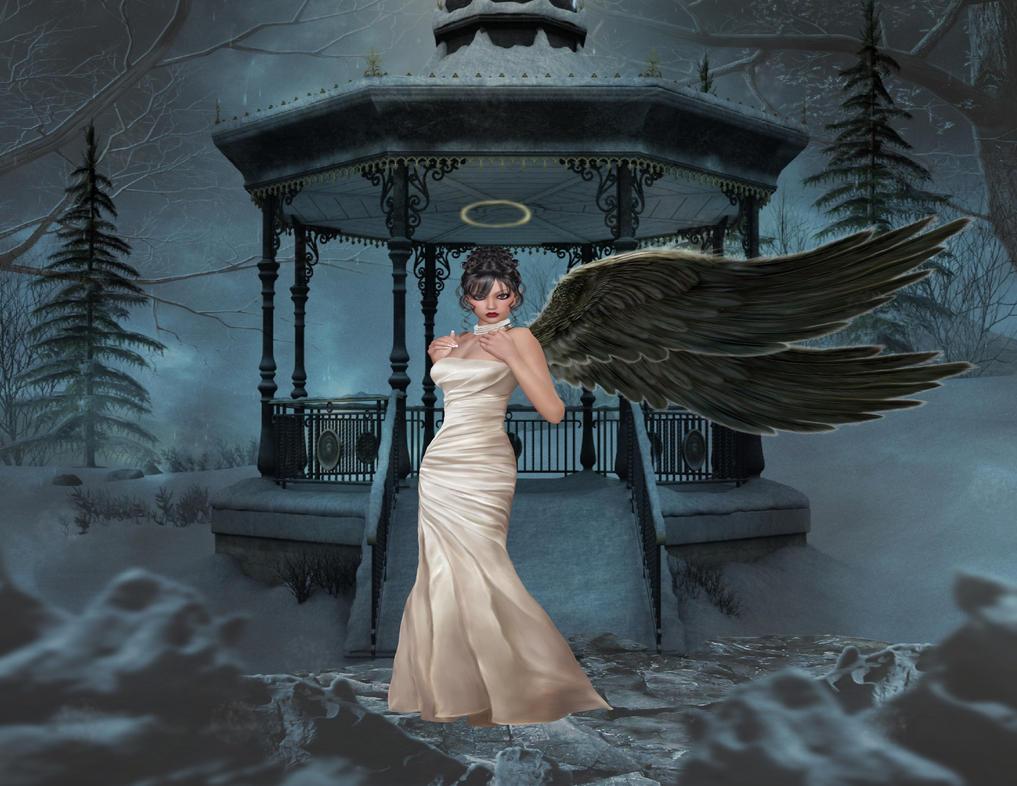 Angel's Winter by neshemadarkangel