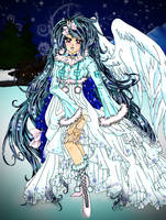 Snow angel by serachi1