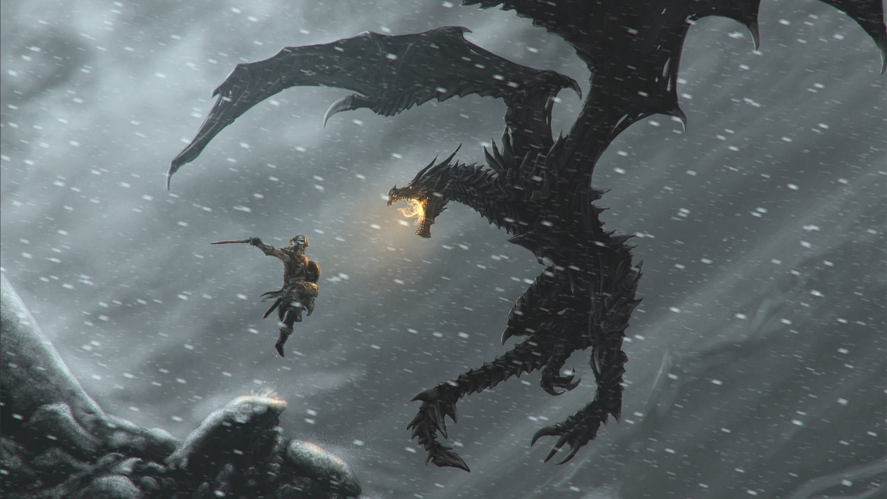 Skyrim Dragonborn by pancreas888