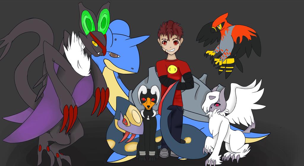 Abbysol Pokemon Team 3 by 11newells