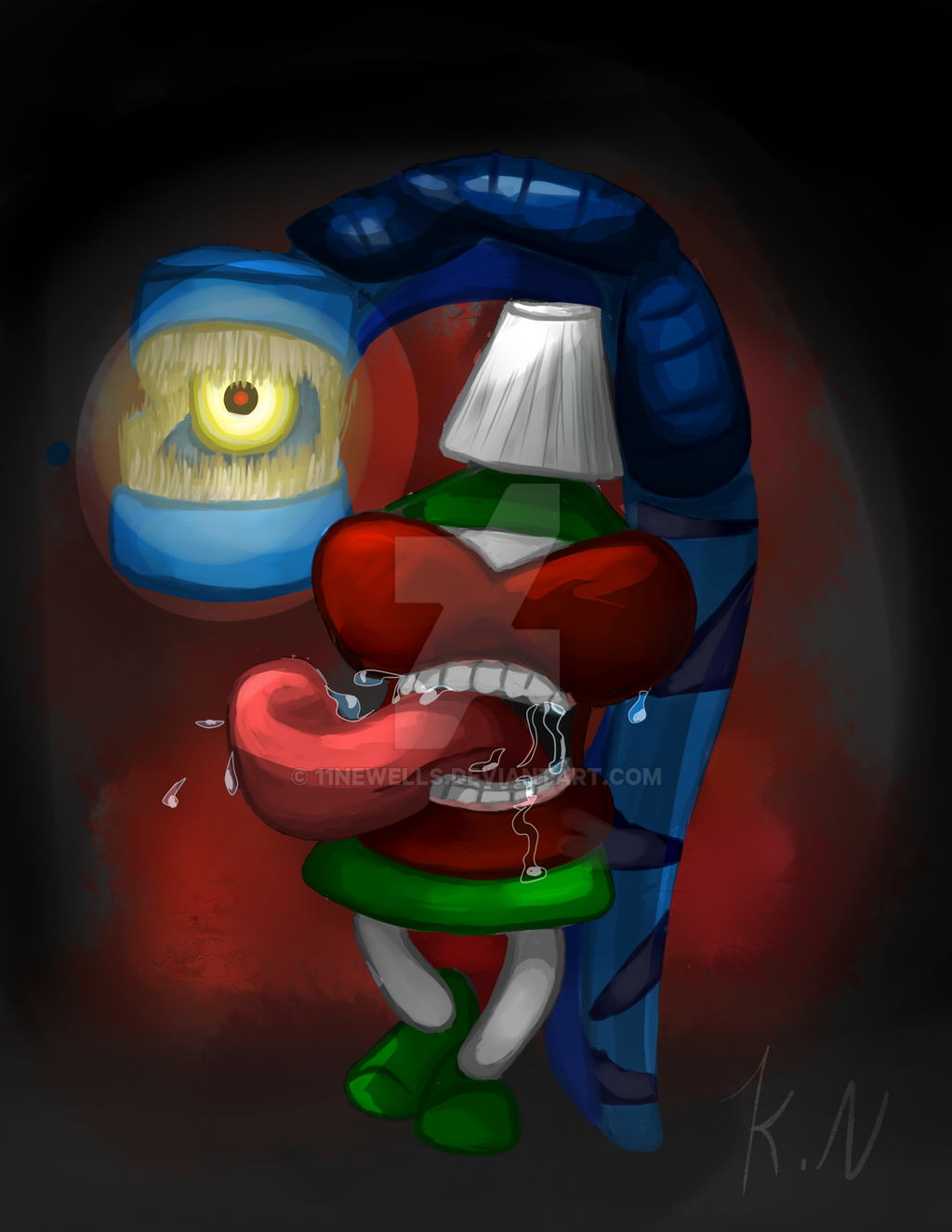 Mouthwash Monster by 11newells