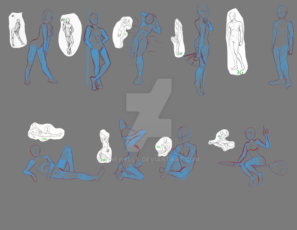Body Poses by 11newells
