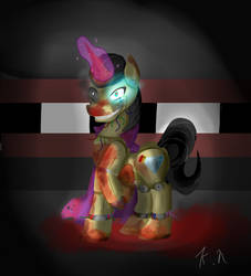 Pie Five Nights At Freddys Robot by 11newells