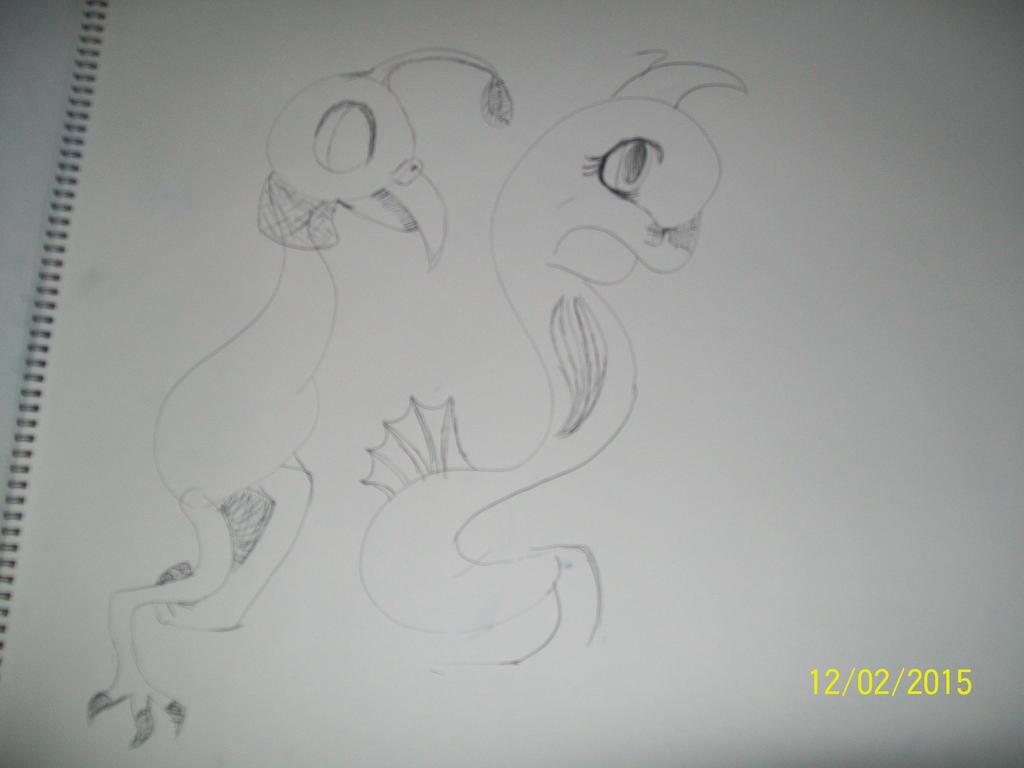 ink pen drawings by 11newells