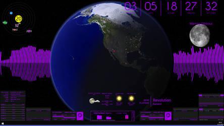 Rainmeter Desktop May 22 by WhytteDragun