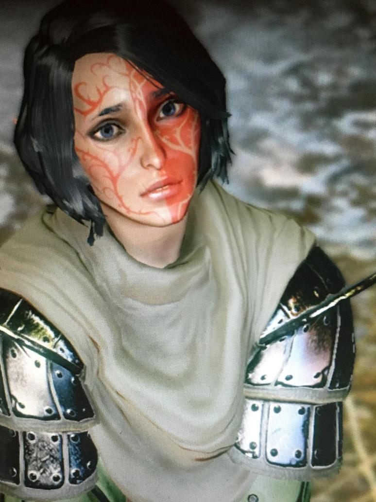Inquisitor Lavellan by ChromeWriting