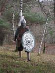 Rus warrior: (viking period)