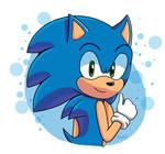 Sonic the hedgehog  by KiraTheHedgehog01