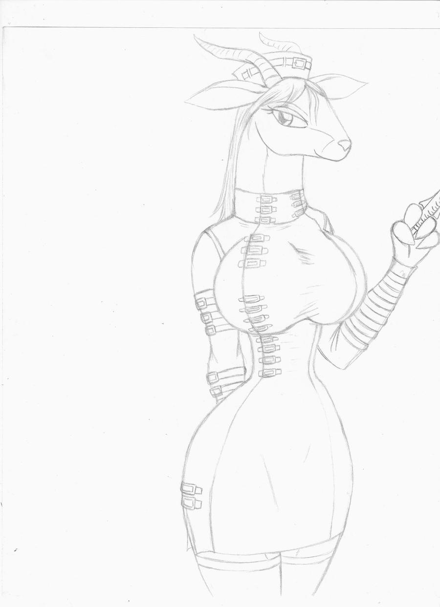 nurse gazelle by anubis 13 on deviantart