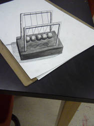 Newtons Cradle by magic-of-josh