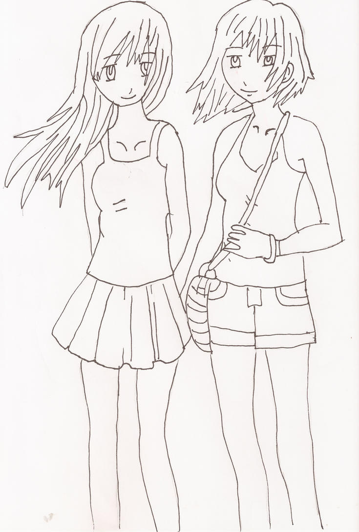 Two Best Friends By Anime-queen619 On DeviantArt