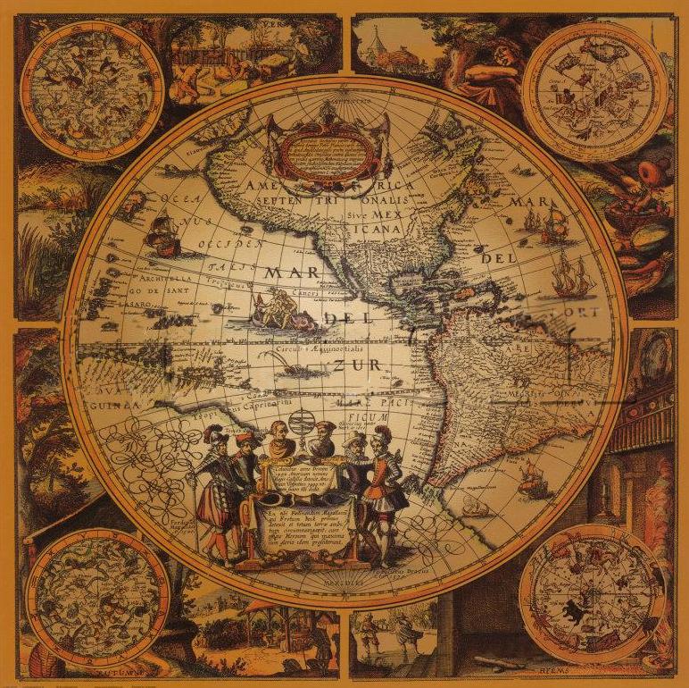 Ancient world map by bilui on deviantart ancient world map by bilui gumiabroncs Image collections