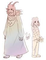 Asriel by islookmai