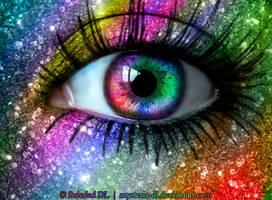 Rainbow Eye by mysteria-dl