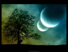 Cosmic Tree by mysteria-dl