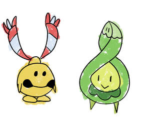 Chingling And Budew
