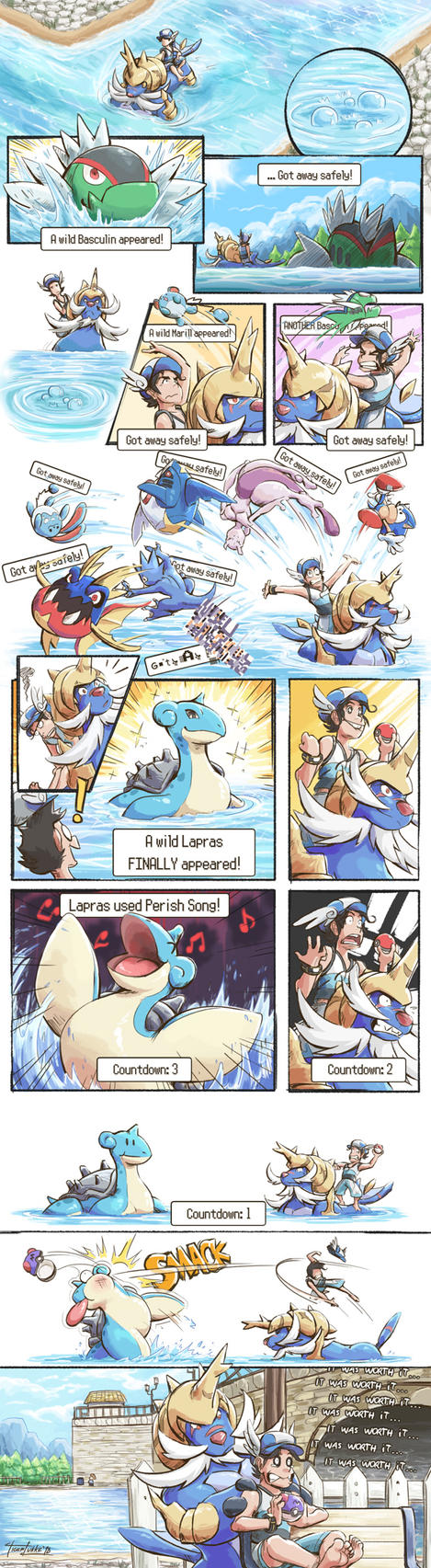 Pokemoments: Low Chances by TigerLukke