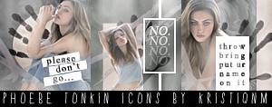 Phoebe Tonkin Icons. by kristiqnm