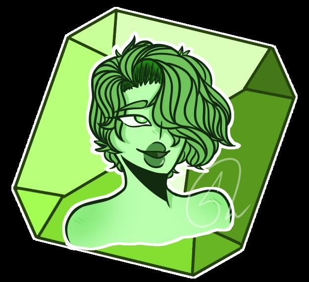 Green Diamond by ZerefUnderWood82