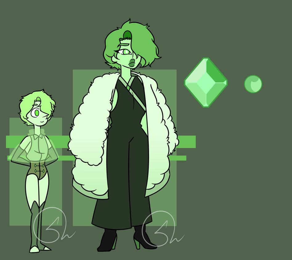 Green Diamond  Green Pearl by ZerefUnderWood82