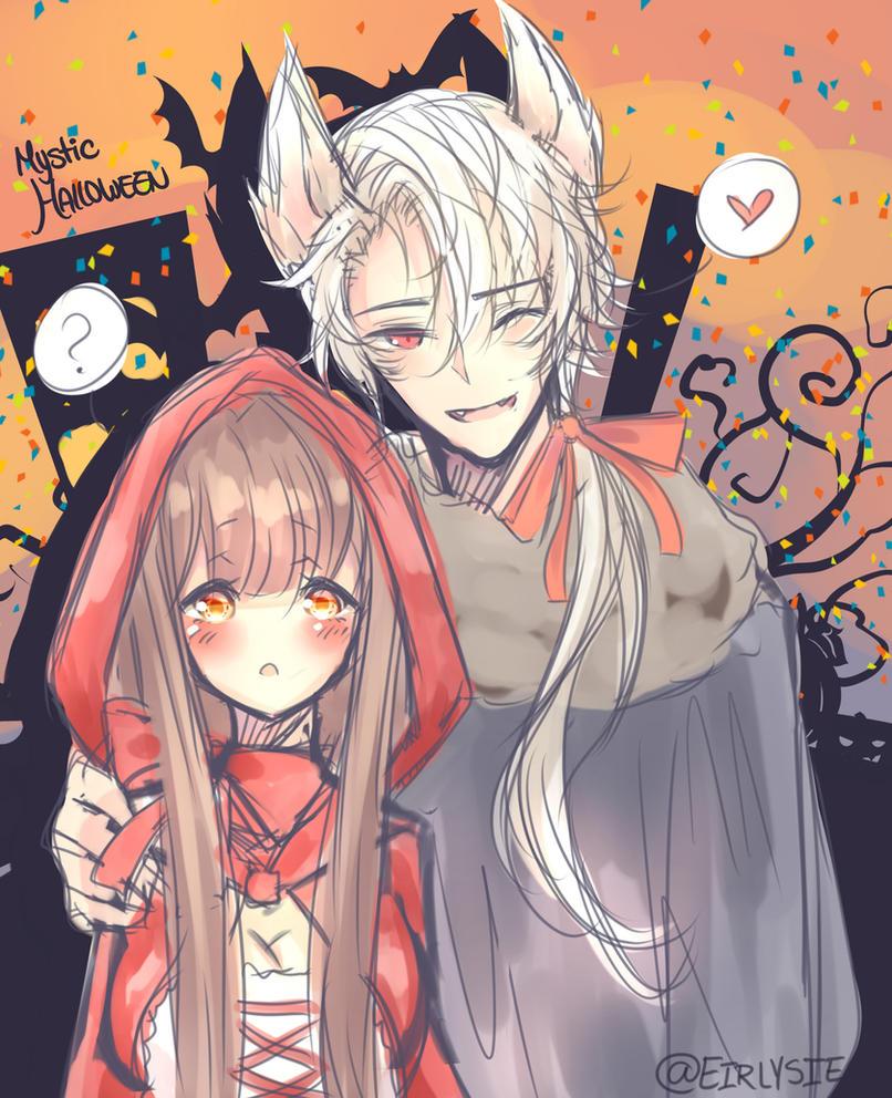 Mystic Messenger Halloween