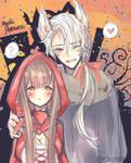 Mystic Messenger Halloween - Zen - FanART