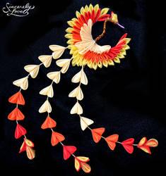 Phoenix Kanzashi by SincerelyLove