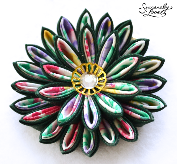 Midsummer Night's Dream Kanzashi by SincerelyLove