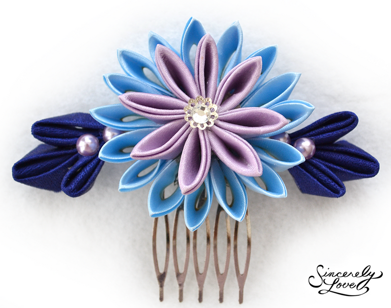Evening Star Kanzashi by SincerelyLove
